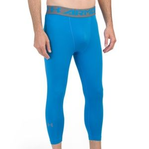 UNDER ARMOUR Heatgear Three-quarter Leggings XL